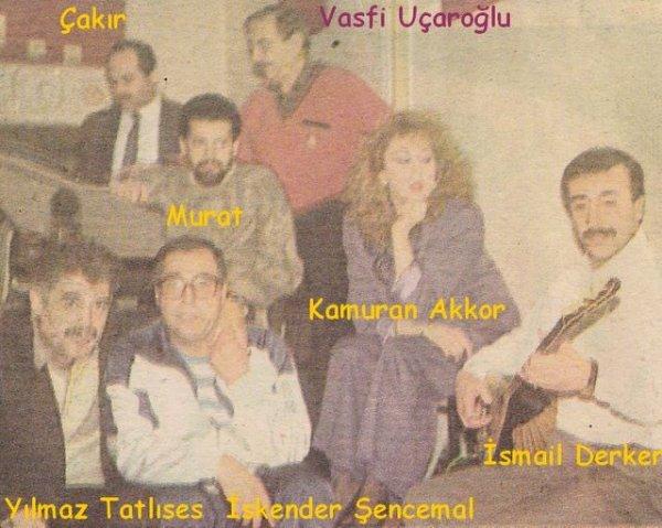 V.Ucaroglu/K.Akkor/Y.Tatlises/Ý.Sencemal/Ý.Derker